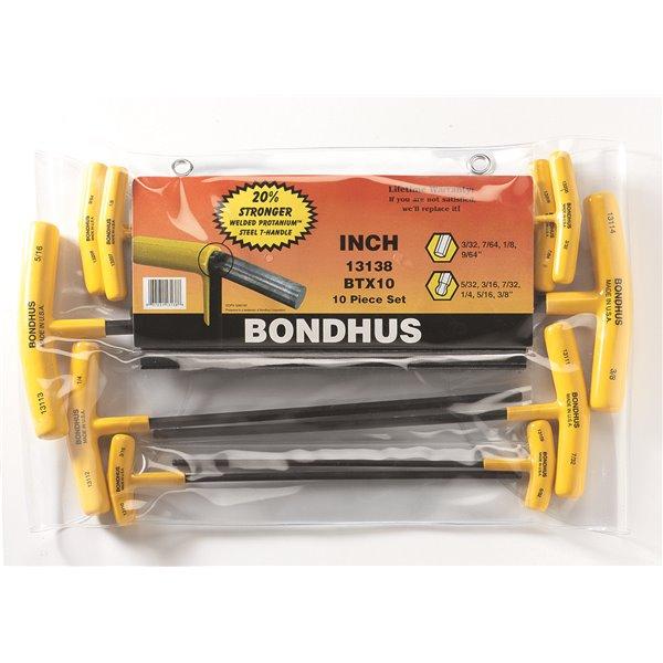 "Bondhus 13113 5//16/"" Ball End T-handle Wrench"