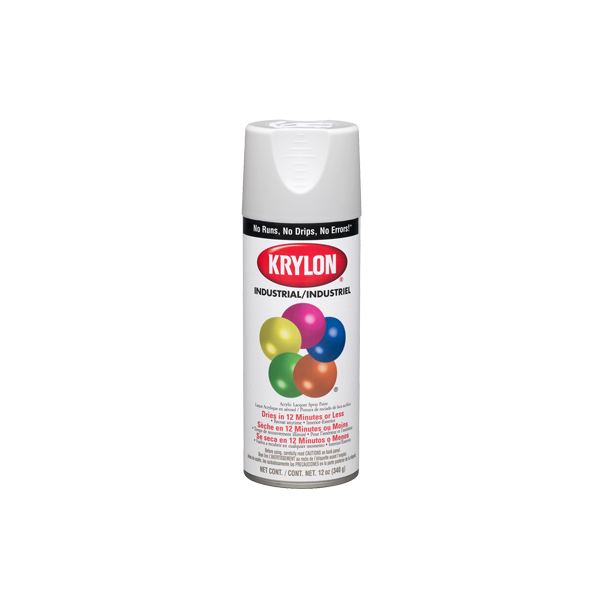 Krylon K01601 Gloss Black Spray Paint 12 Oz Kaufman
