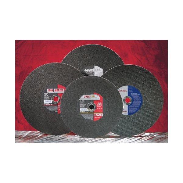 "UNITED ABRASIVES-SAIT 24052 CutOff Wheel,A46N,14/""x3//32/""x1/"",4400rpm"