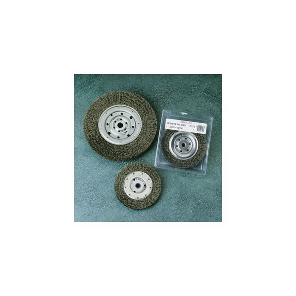 "SAIT 09560 10/"" x .014 x 2/"" x 1/"" Wide Bench Wire Wheel United Abrasives"