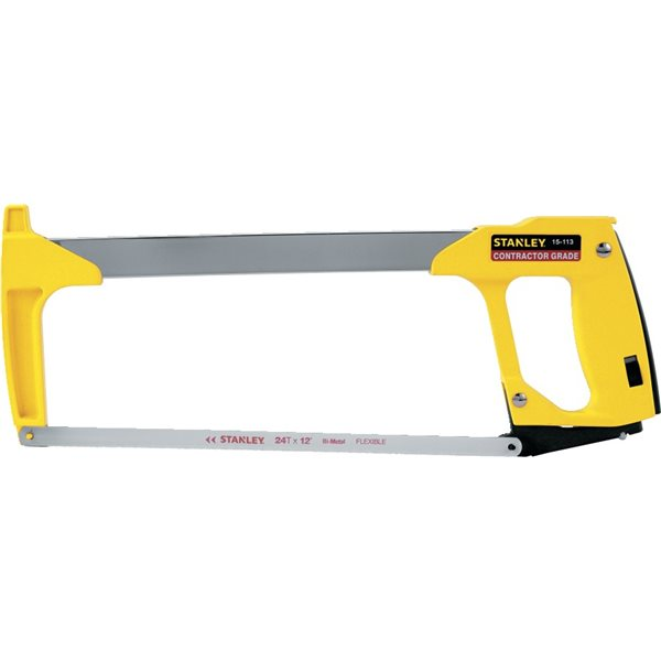 Stanley 15 113 high tension hacksaw 12 kaufman company inc greentooth Choice Image