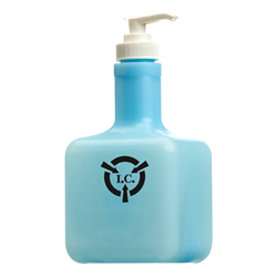 IC Blue Lotion in ESD Safe 16 oz. Bottle